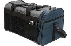 Transportväska Samira, 31 × h32 × 52 cm, grå/blå