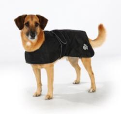 Hundtäcke Orleans Reflex/Fleece Svart
