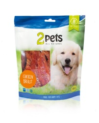 2pets Dogsnack Chicken Breast, 350 g