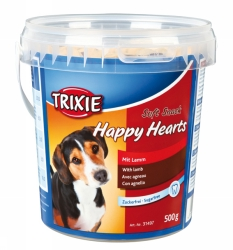 Hundgodis Happy hearts 500 g