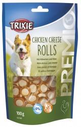 PREMIO Chicken Cheese Rolls, 100 g