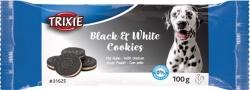 Hundkakor Black & White, kyckling, ø 4 cm, 4-pack/100 g