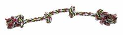 Leksak PetNation Flosstugg 4 knut Flerfärg 55 cm