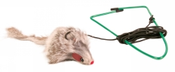 Kattlek mus för dörrkarm