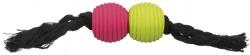Rep med bollar, latex/bomull,32 cm