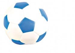 Fotboll canvas, 11 cm, blandade färger
