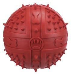 Leksak Gummiboll knottrig m pip 9,5 cm