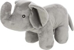 Elefant, plysch, 36 cm