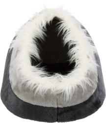 Minou igloo, 41 × h30 × 50 cm, mörkgrå/ljusgrå