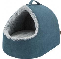 Tonio vital igloo, 35 × h30 × 40 cm, petrol/vit