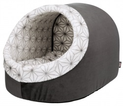 Diamond igloo, 35 × 26 × 40 cm, antracit/vit