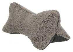 Kudde Bendson, 40 × 22 cm, ljusgrå/mörkgrå
