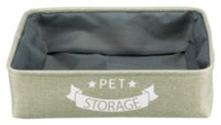 Förvaringslåda Pet Storage, 46 × 12 × 40 cm, grön