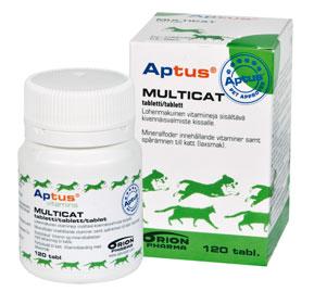 Aptus Multicat Tabletter 120st