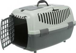Be Eco Capri 3 transportbur, S: 40 × h38 × 61 cm, antracit/grå-grön