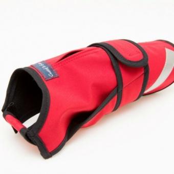 G&E Täcke Soft-Shell Röd