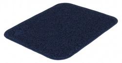 Kattlådematta, PVC, 37 × 45 cm, mörkblå