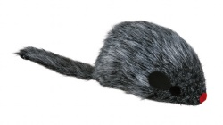 Kattleksak Plyschmus vibrerande 8,5 cm