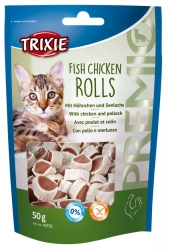Fish & Chicken Rolls 50 g