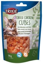 PREMIO Cheese Chicken Cubes, 50 g
