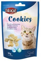 Cookies med lax och catnip, 50 g