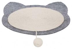 Junior klösmatta, filt, 40 × 35 cm, natural/grå