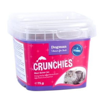 Crunchies lax 75g