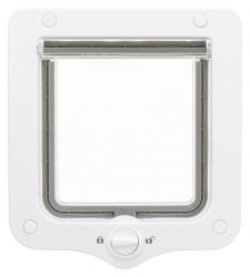 Kattdörr 2-vägs,20 × 22 cm, vit