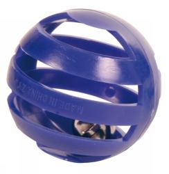 Plastbollar m bjällra 4 p