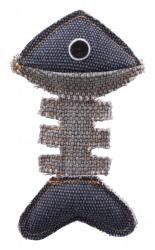 Fiskben, polyester/bomull, 13 cm