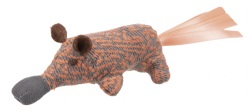 Näbbdjur, polyester,8 cm