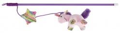 Kattvippa med enhörning, plysch, 45 cm