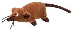 Råtta, plysch, 10 cm