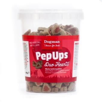 Pep Ups Duo Hearts 3-smak 300g