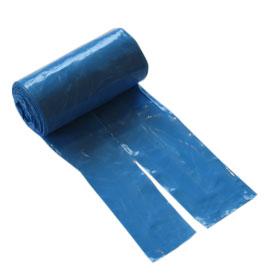 Bajspåse Ljusblå Knyt 50/rulle