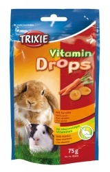 Vitamindrops m.morötter 75 g