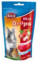 Mini drops m.Jordgubbar 75 g