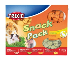 Snack Pack gnagare 4 x 35 g