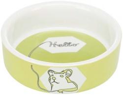 Skål, hamster, keramik, 90 ml/ø 8 cm