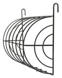 Höhäck metall hängande, 25 × 15 cm, svart