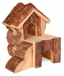 Hamsterhus 2-vån. 14x13,5x15,5 cm