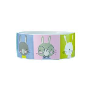 Keramikskål kanin 125x50mm