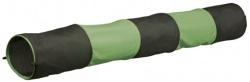 Gnagartunnel Bomull grön/grå 130x18 cm