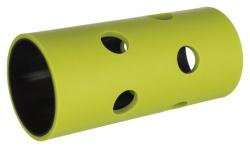Foderrulle gnagare, plast/TPR,ø 5.5 × 12 cm, grön