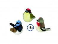 Hundleksak Plysch - Fågel/Ljudchip - 17cm