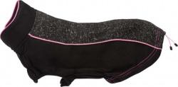 Hudson pullover, svart/rosa