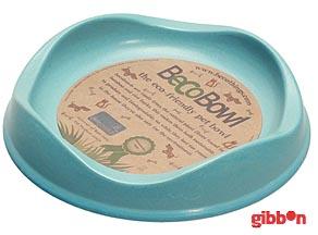 Beco matskål Blå från växtfibrer