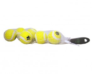 Tennisboll 4,5 cm 6-pack
