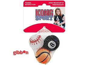 Hundleksak Kong Sportboll S 3p