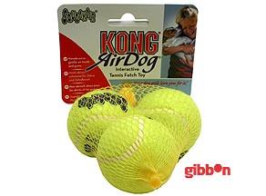 Hundleksak Kong Air Squeaker Tennisboll S 3p